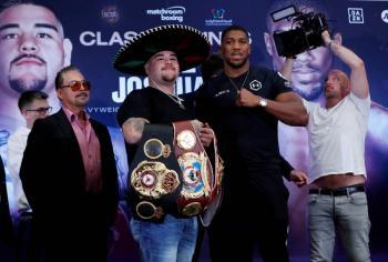 Aquí podrás ver el combate entre Andy Ruiz vs Anthony Joshua