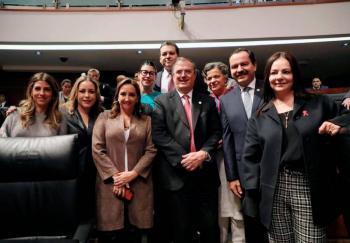 Ayuda de EU a México sería reducir el tráfico de armas: Ebrard