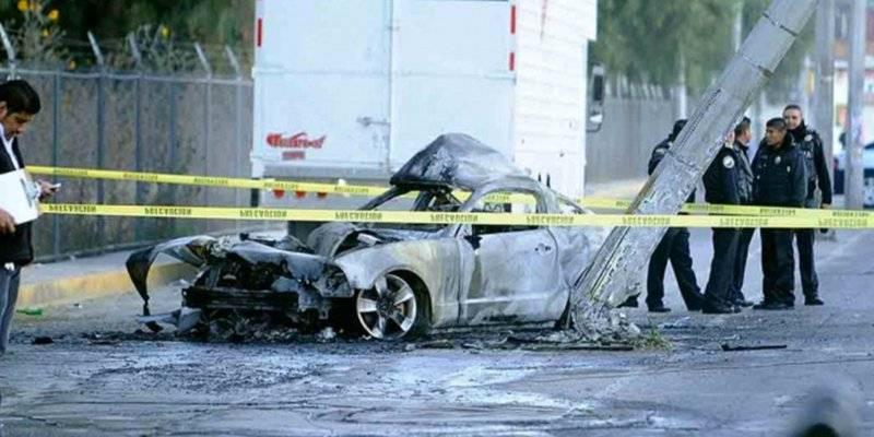 Lanzan bombas molotov al auto del alcalde suplente de Amacuzac, Morelos