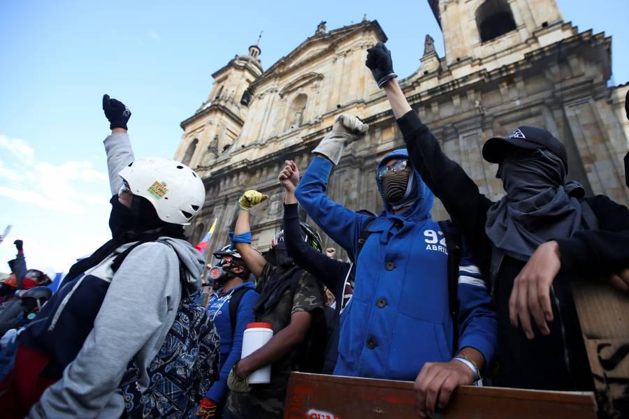 Continúa la huelga de estudiantes y sindicatos en Colombia