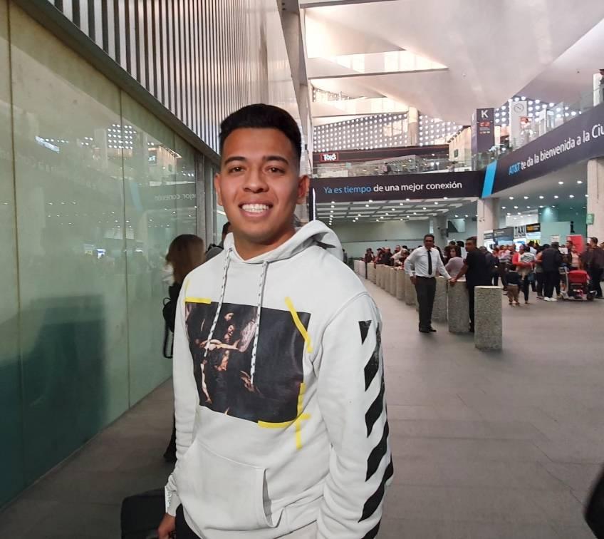 Sebastián Saucedo llega la CDMX para negociar su fichaje con Pumas