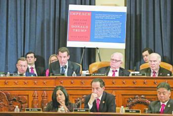 Republicanos en la Cámara  baja cierra filas con Trump