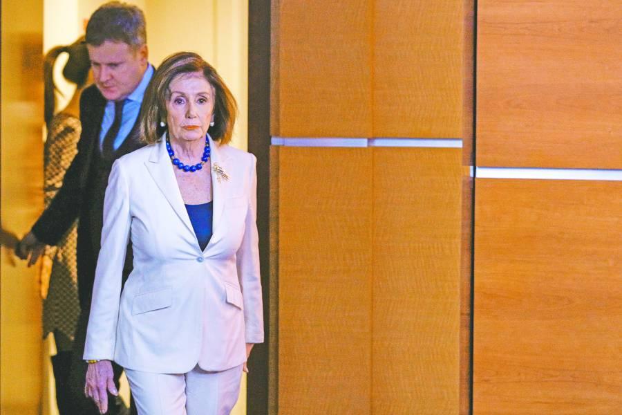 Sin apoyo republicano, Cámara baja  presentará cargos contra Trump