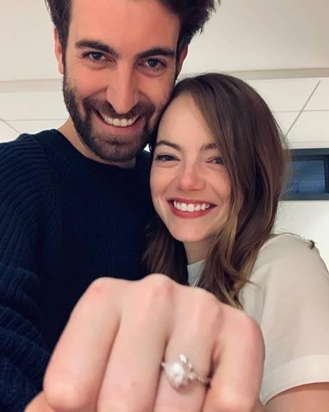 Emma Stone y Dave McCary, anuncian su boda