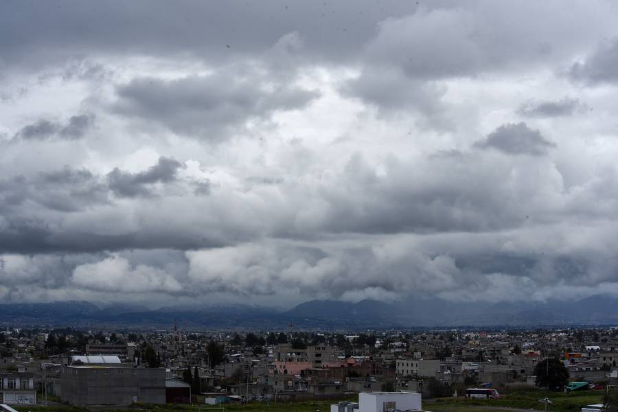 Momento de sacar las chamarras en el Valle de México