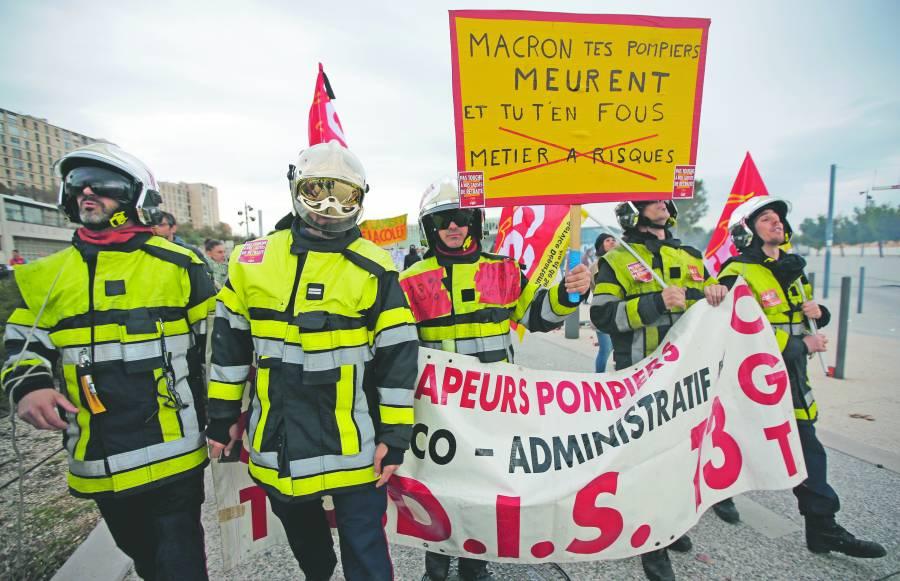 Reforma a pensiones paraliza viajes,  escuelas, atracciones… en Francia