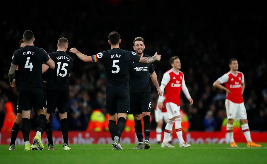 Arsenal cae ante el Brighton y agudiza su crisis