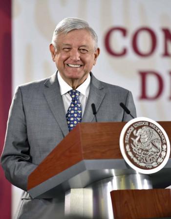 No hay techo presupuestal para atender DH: López Obrador