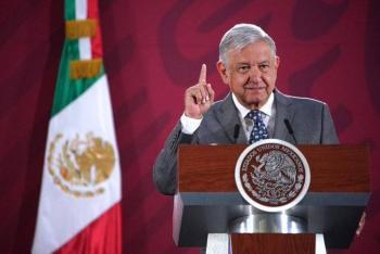 Rechaza AMLO polemizar sobre declaraciones de Cuauhtémoc Cárdenas