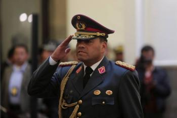 Fuerzas Armadas de Bolivia prescinden de consigna usada por Evo Morales