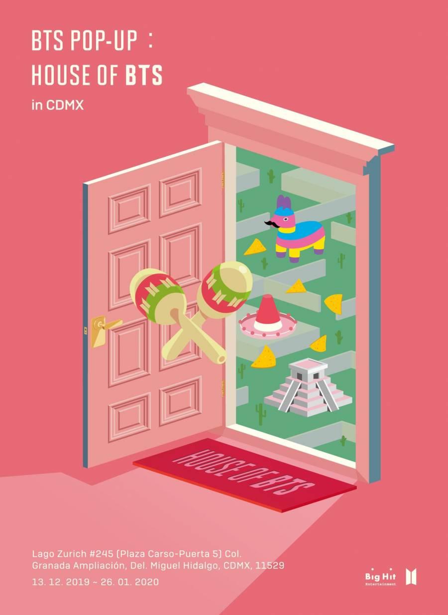 House of BTS llega a la CDMX