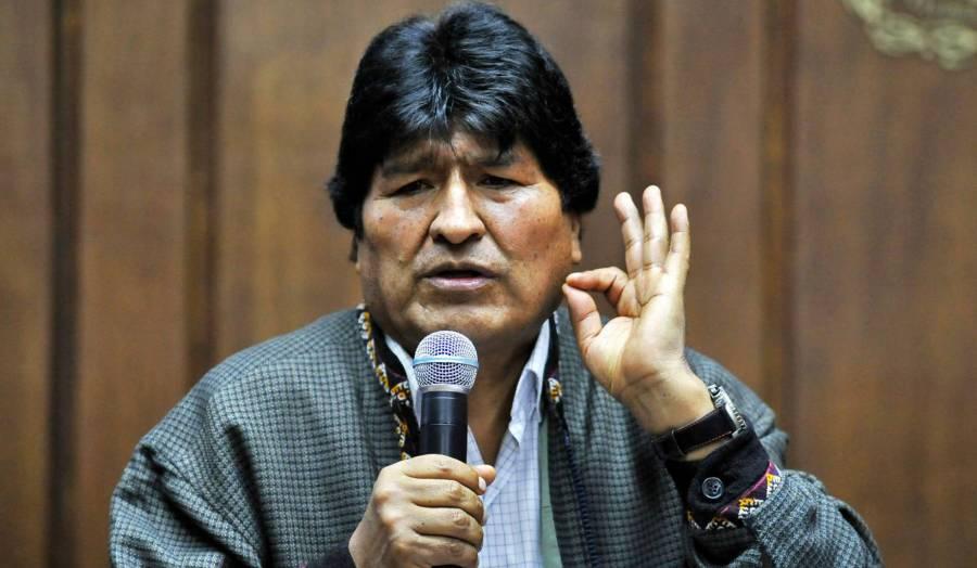 Evo Morales sale de México para instalarse en Argentina