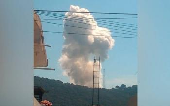 Explota polvorín en Amozoc de Mota, Puebla; hay cuatro muertos