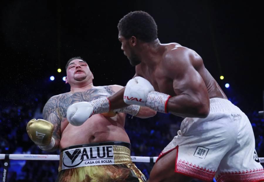 El boxeador británico, Anthony Joshua vence al mexicano Andy Ruiz