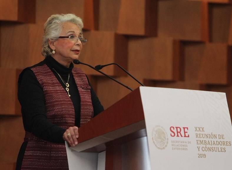 Sánchez Cordero acudirá a la toma de protesta del nuevo presidente de Argentina