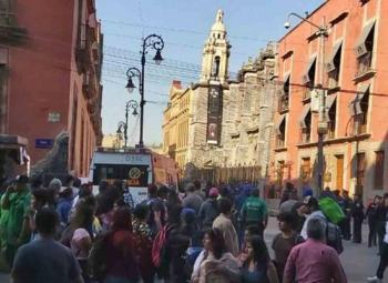 Balacera en Centro Histórico de CDMX deja cinco muertos