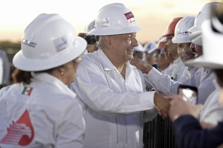 AMLO visitará campo petrolero en Campeche