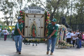 SSC anuncia operativo por llegada de peregrinos