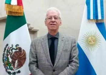 Suspenden a embajador de México en Argentina tras ser acusado de robo