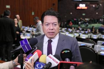 Semana intensa de trabajo, Cámara de Diputados cerrará periodo ordinario: Mario Delgado