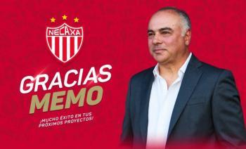 Necaxa hace oficial la salida de Guillermo Vázquez