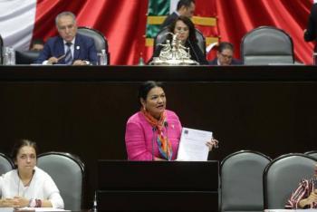 Fortalecer a la oposición permitirá un verdadero desarrollo democrático en el país afirma Dulce María Sauri