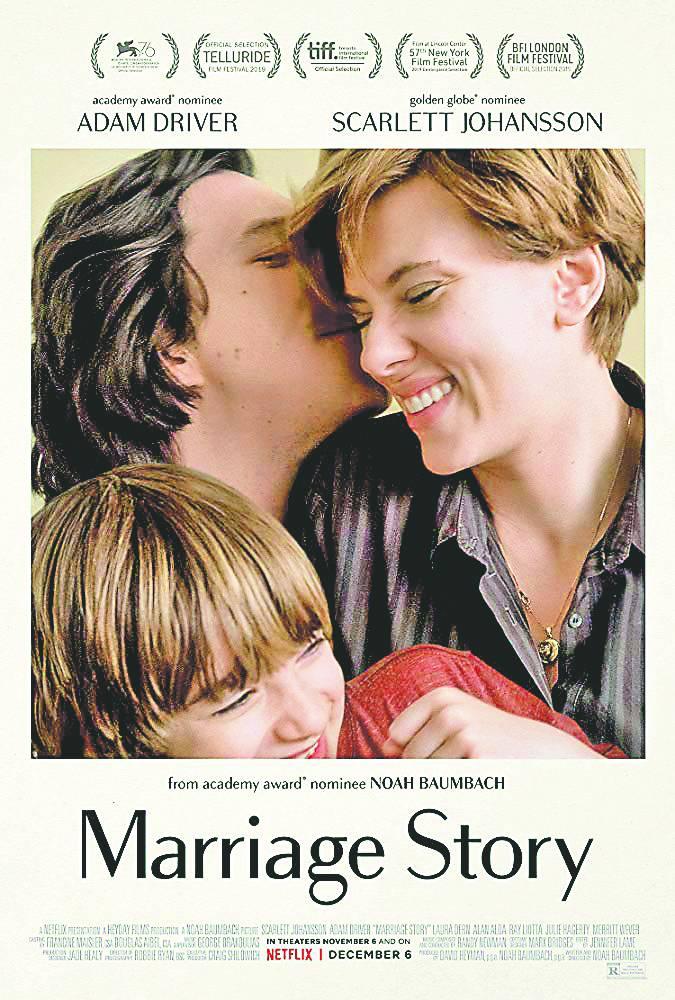 Resultado de imagen para a marriage story poster