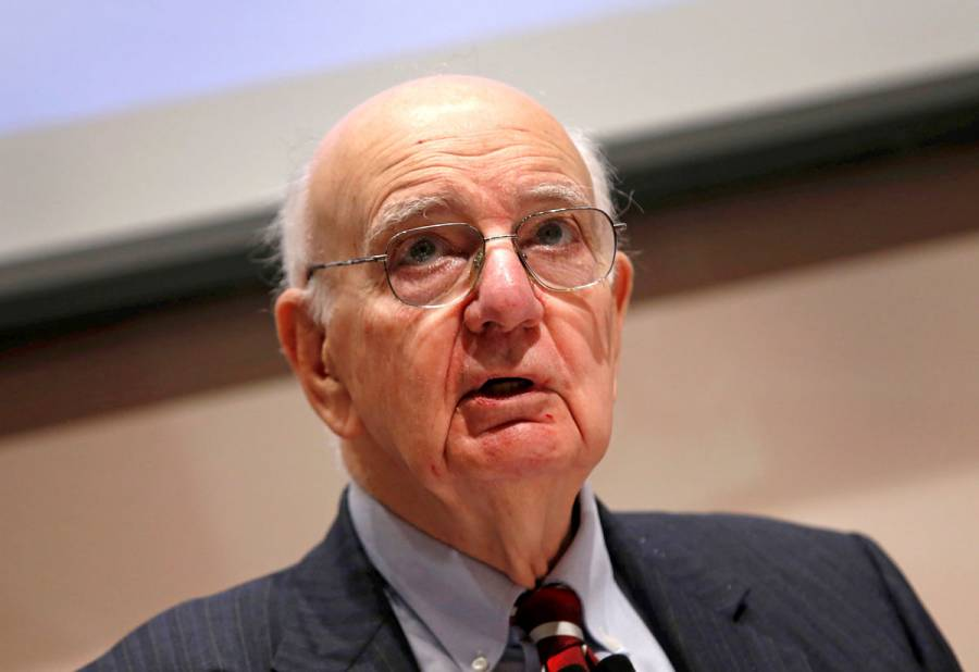 Fallece Paul Volcker, expresidente del Banco Central de EU