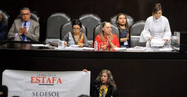 En incertidumbre presencia de Rosario Robles en Cámara de Diputados
