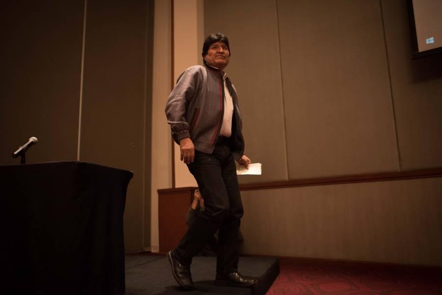 Evo Morales regresará a México, confirma Encinas