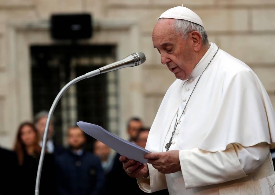 Son tendencia los señalamientos del Papa Francisco sobre la corrupción