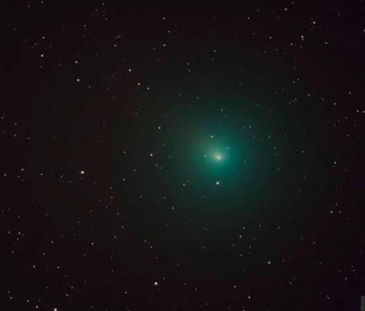Capta el satélite TESS la explosión del cometa Wirtanen