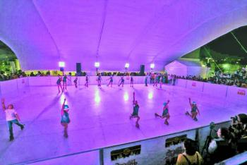 Inauguración Miguel Hidalgo pista de patinaje ecológica