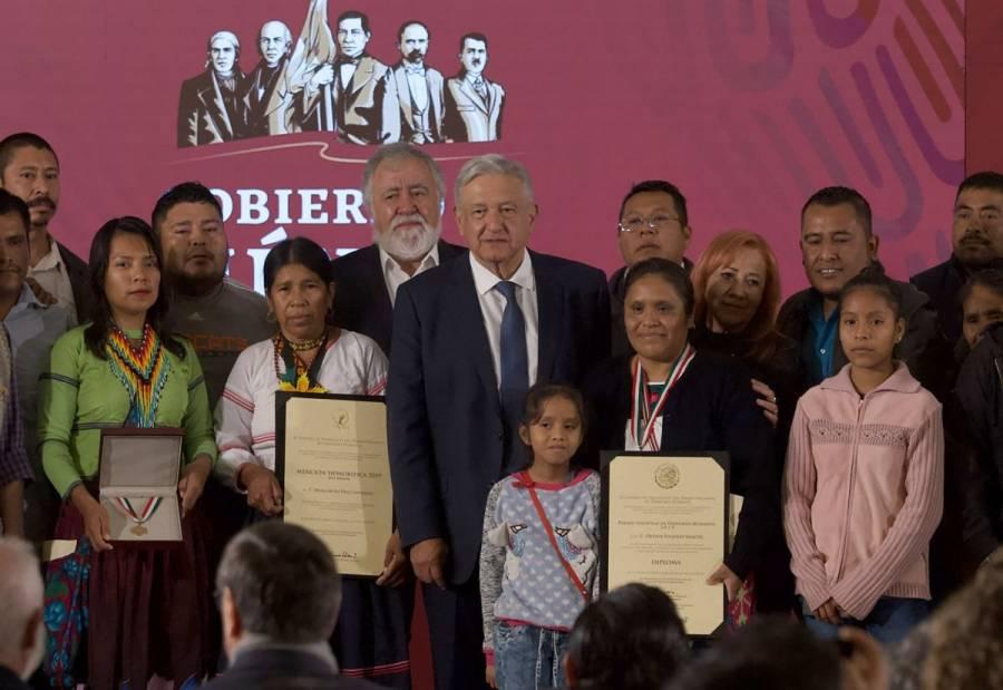 Otilia Eugenio Manuel, Premio Nacional de Derechos Humanos 2019
