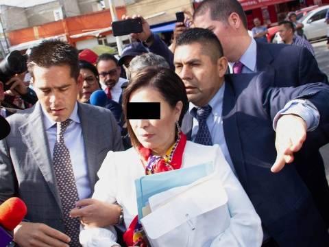 Pide Rosario Robles desechar procedimiento en su contra