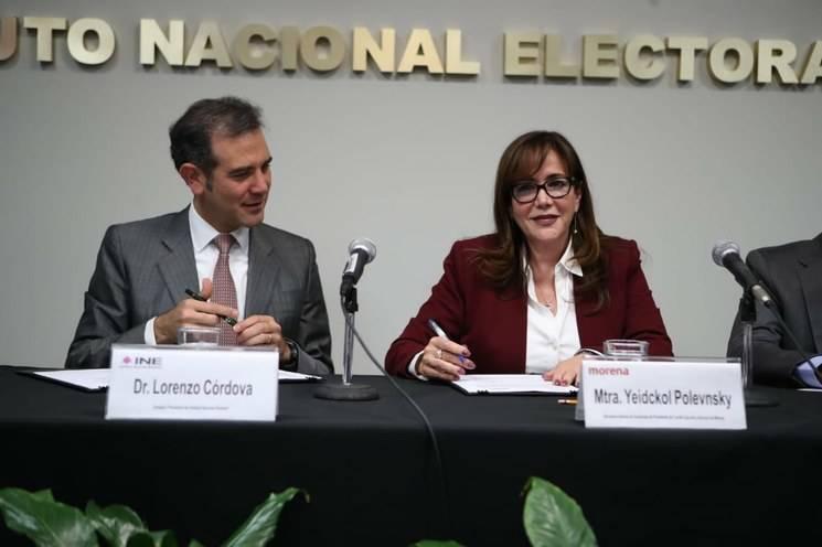 Renuncia Morena al 75 por ciento de financiamiento público para 2020