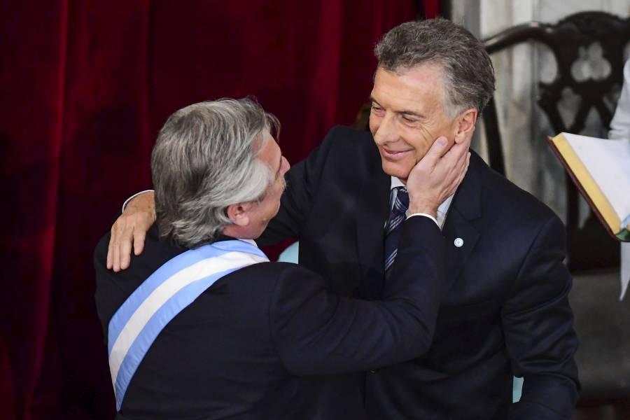 Fernández asume la Presidencia de Argentina