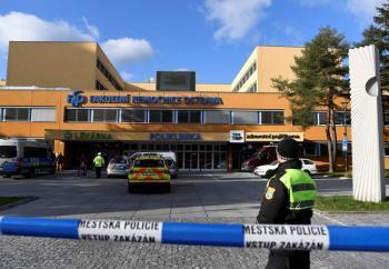 Tiroteo en hospital de República Checa deja al menos 6 muertos