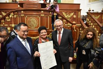 Ernestina Godoy rinde protesta como Fiscal General de la CDMX
