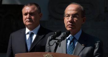 Dice Calderón Hinojosa que desconocía por completo los hechos imputados a García Luna
