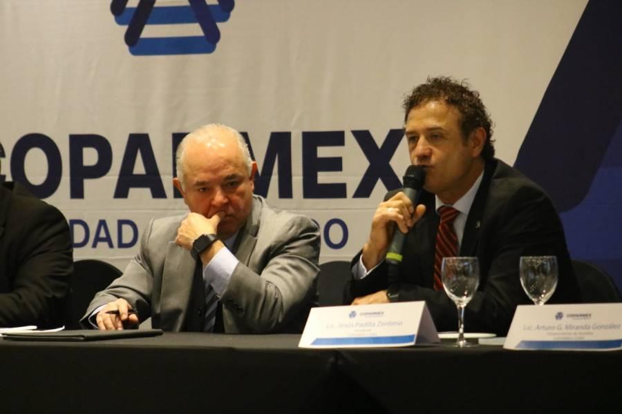 Firman convenio Coparmex CDMX y la UNAM en materia de innovación, investigación y desarrollo tecnológico