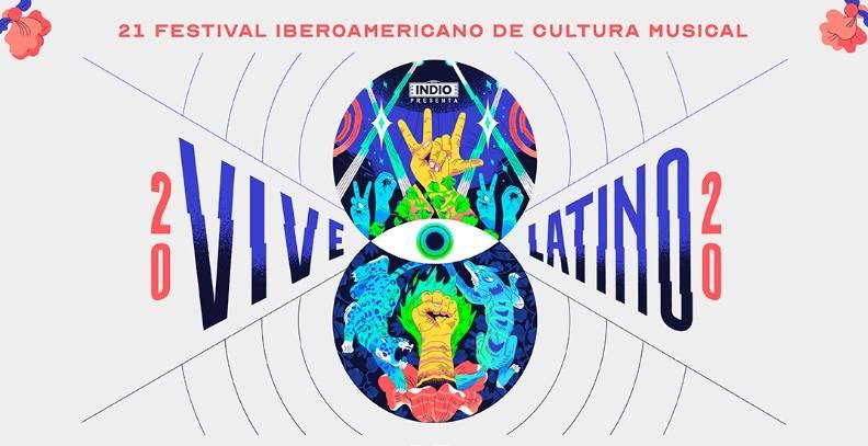 Revelan actos por día para el Vive Latino 2020