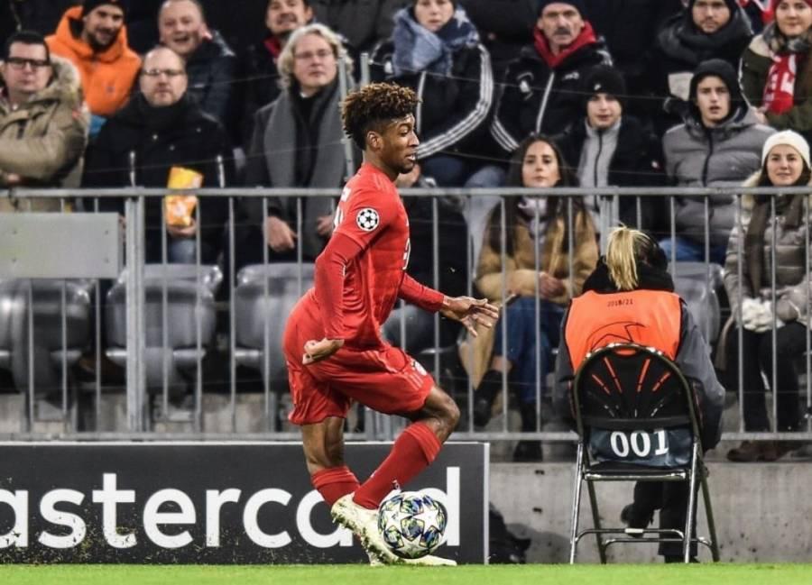 Coman protagoniza terrible lesión en el Bayern vs Tottenham