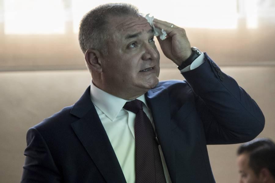 Gertz Manero denunció a García Luna en 2001 por compras de aeronaves