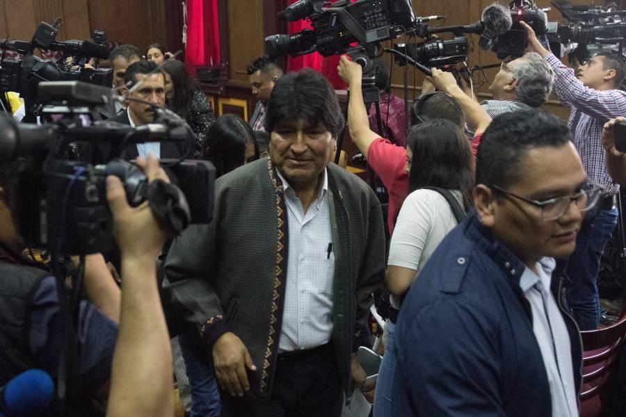 Carlos Mesa habla de Evo Morales como jefe de campaña del MAS