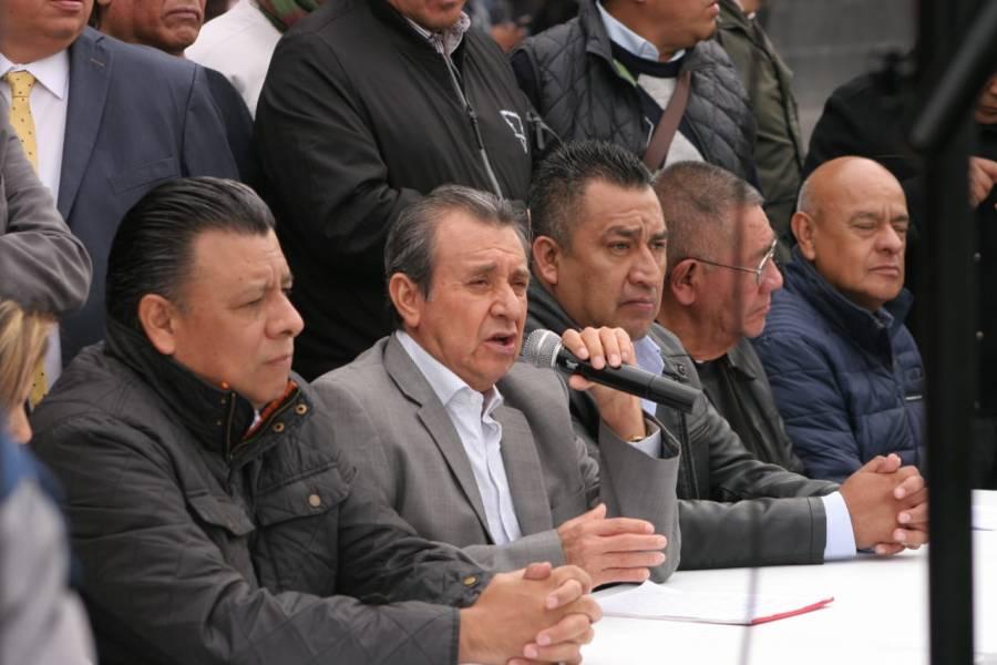 Movimiento Nacional Taxista prevé más movilizaciones tras fracaso de diálogo con SEGOB
