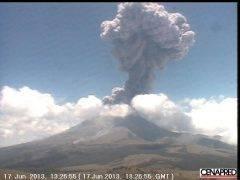 Cenapred y SENEAM coordinan el monitoreo de cenizas volcánicas