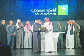 Saudi Aramco llega arrasando a la bolsa