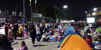 Prácticamente 8 millones de peregrinos han visitado a la Virgen de Guadalupe