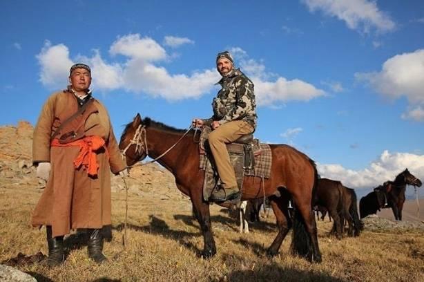 Hijo de Trump mató a oveja en extinción en Mongolia